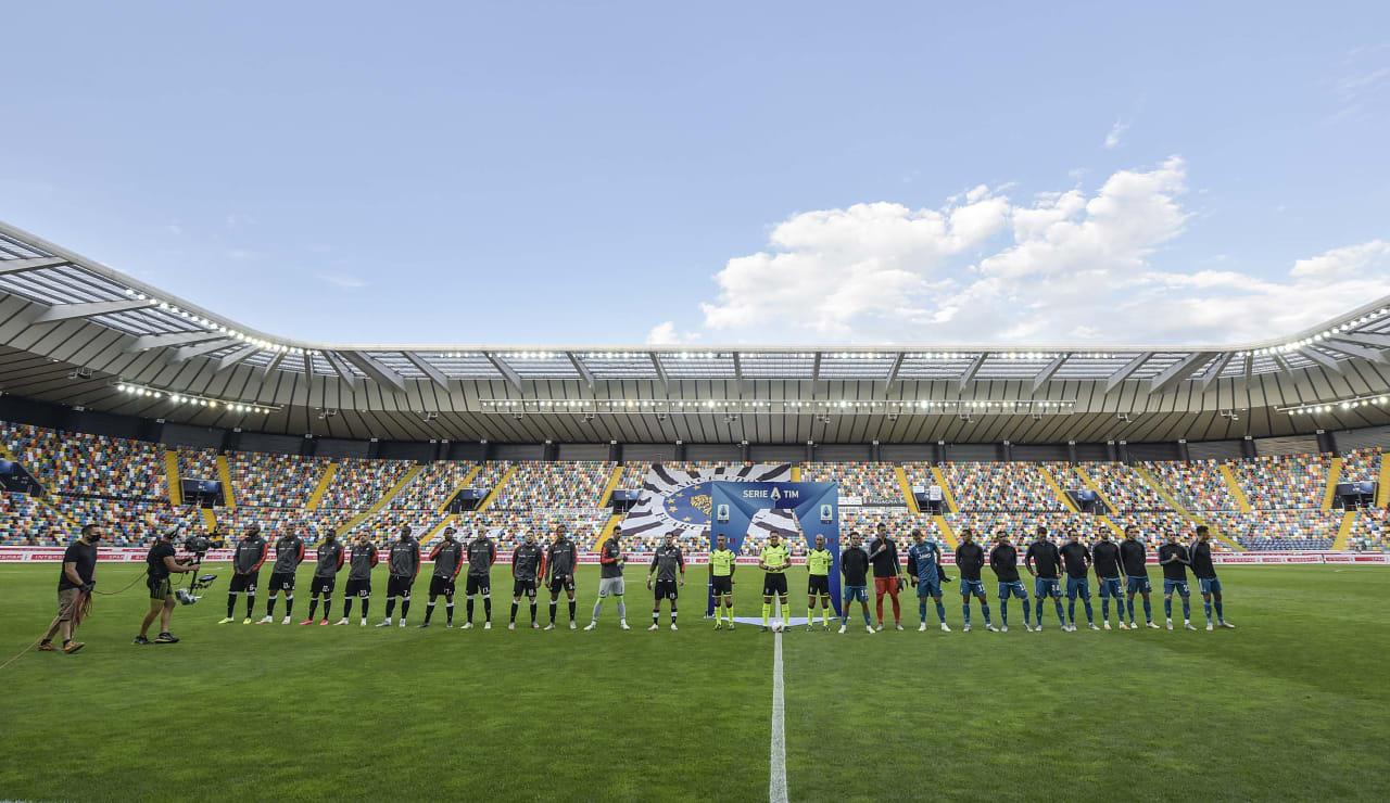 Udinese Juventus 23 luglio 2020 01