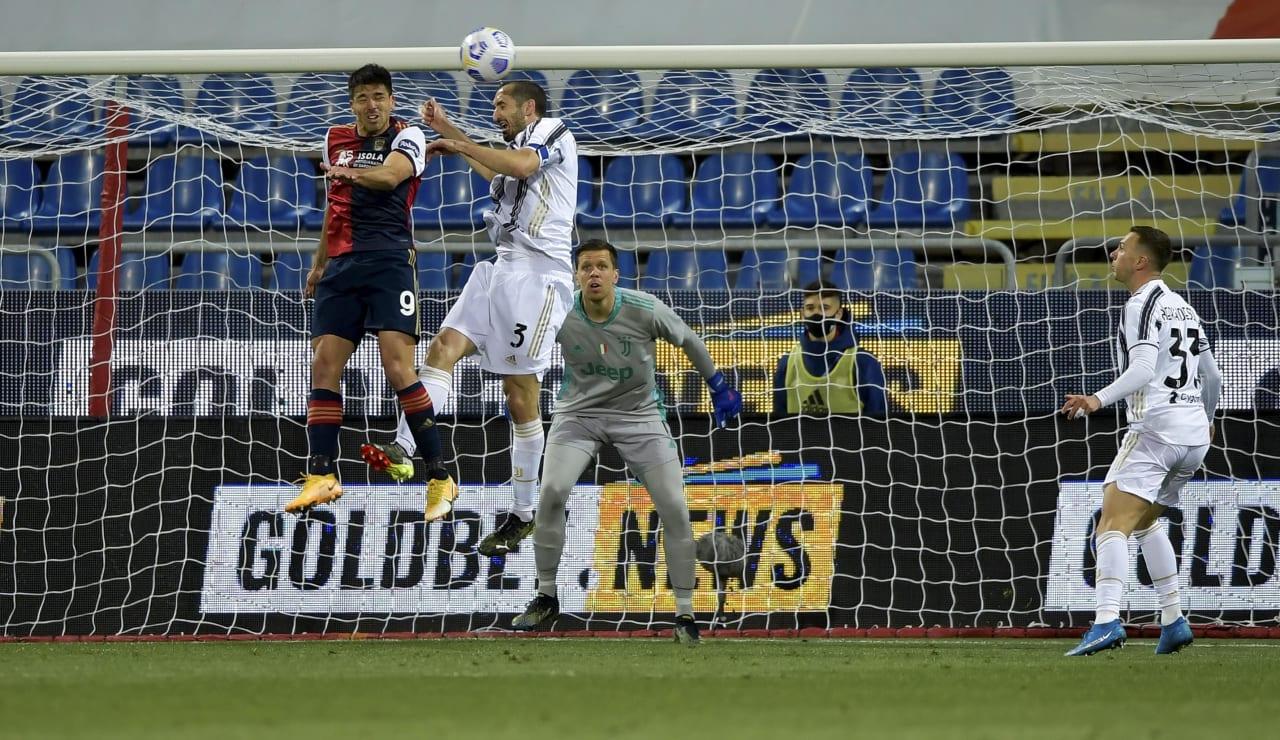 15 Cagliari Juve 14 marzo 2021
