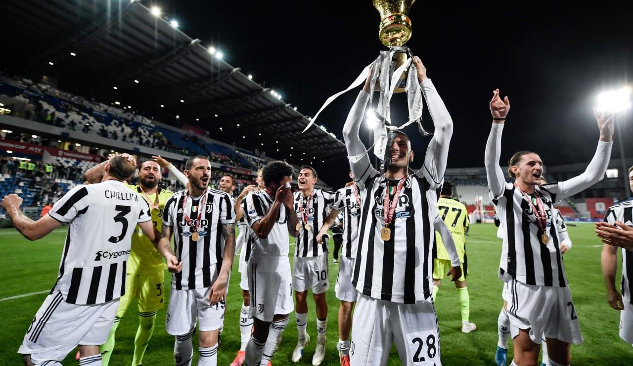Esultanza Coppa Italia 19 maggio 2021 - 11