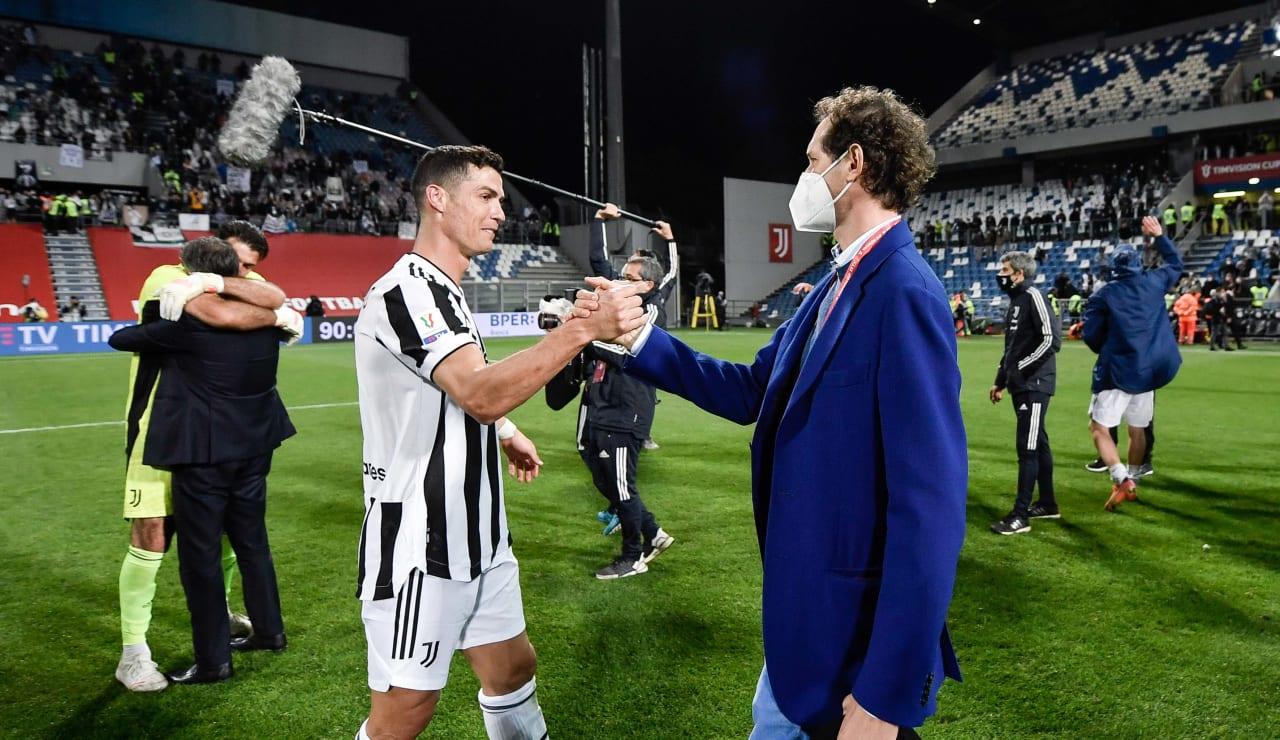 Esultanza Coppa Italia 19 maggio 2021 - 09