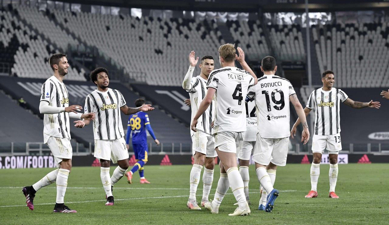 18 Juventus Parma 21 aprile 2021