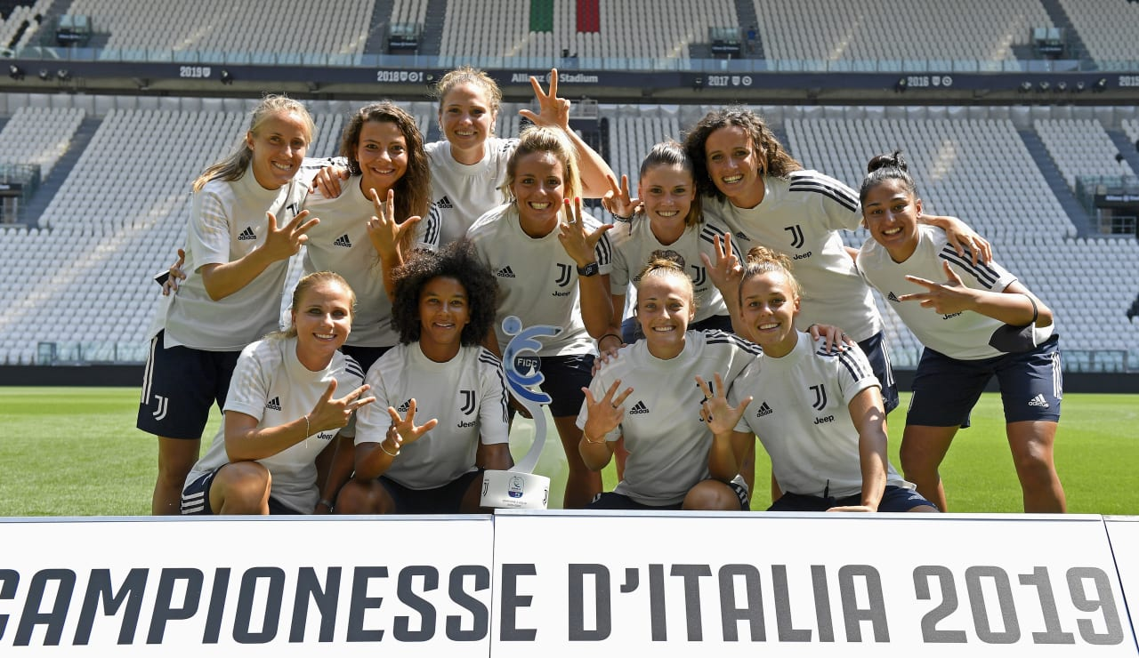 SCUDETTO WOMEN CONSEGNA ALLIANZ STADIUM_F1A1326