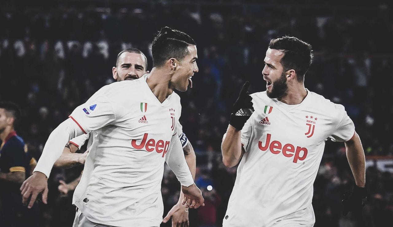 Stronger Scudetto Esultanze 5 Ronaldo Pjanic