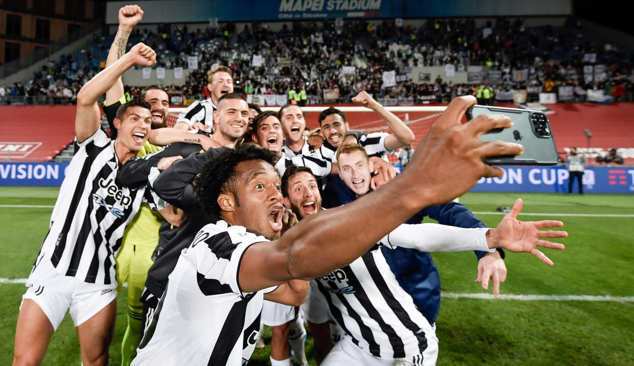 Esultanza Coppa Italia 19 maggio 2021 - 04