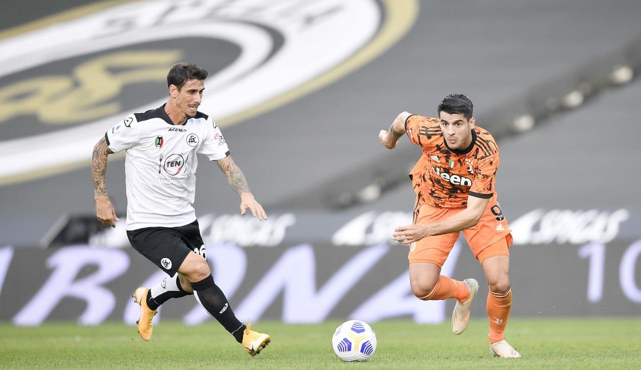02 Spezia Juventus 1 novembre 2020
