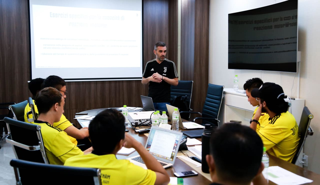 Coaches Clinic with Juventus FC Area Manager Carlo Mastellone