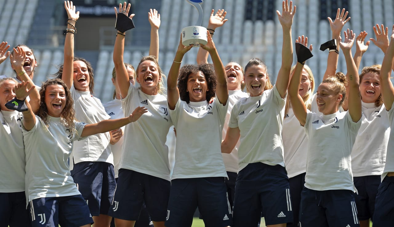 SCUDETTO WOMEN CONSEGNA ALLIANZ STADIUM_F2A3296