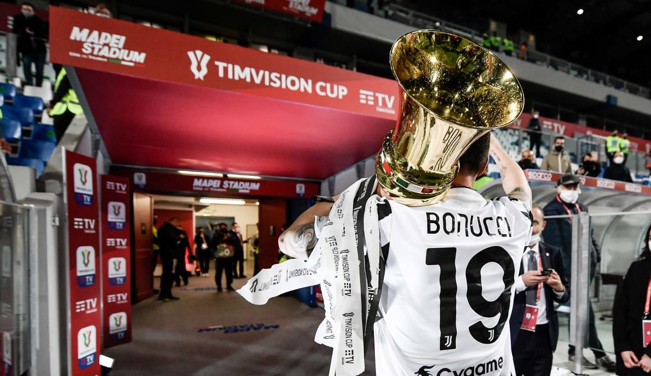 Esultanza Coppa Italia 19 maggio 2021 - 20