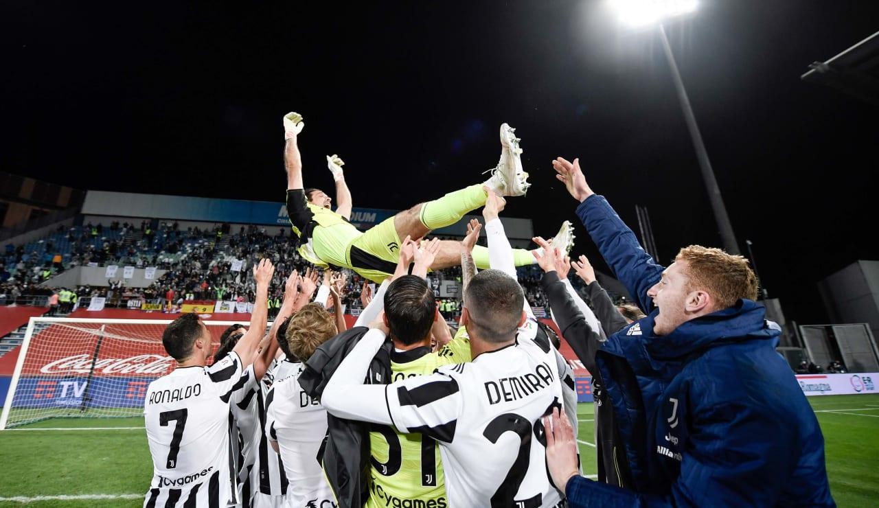 Esultanza Coppa Italia 19 maggio 2021 - 06