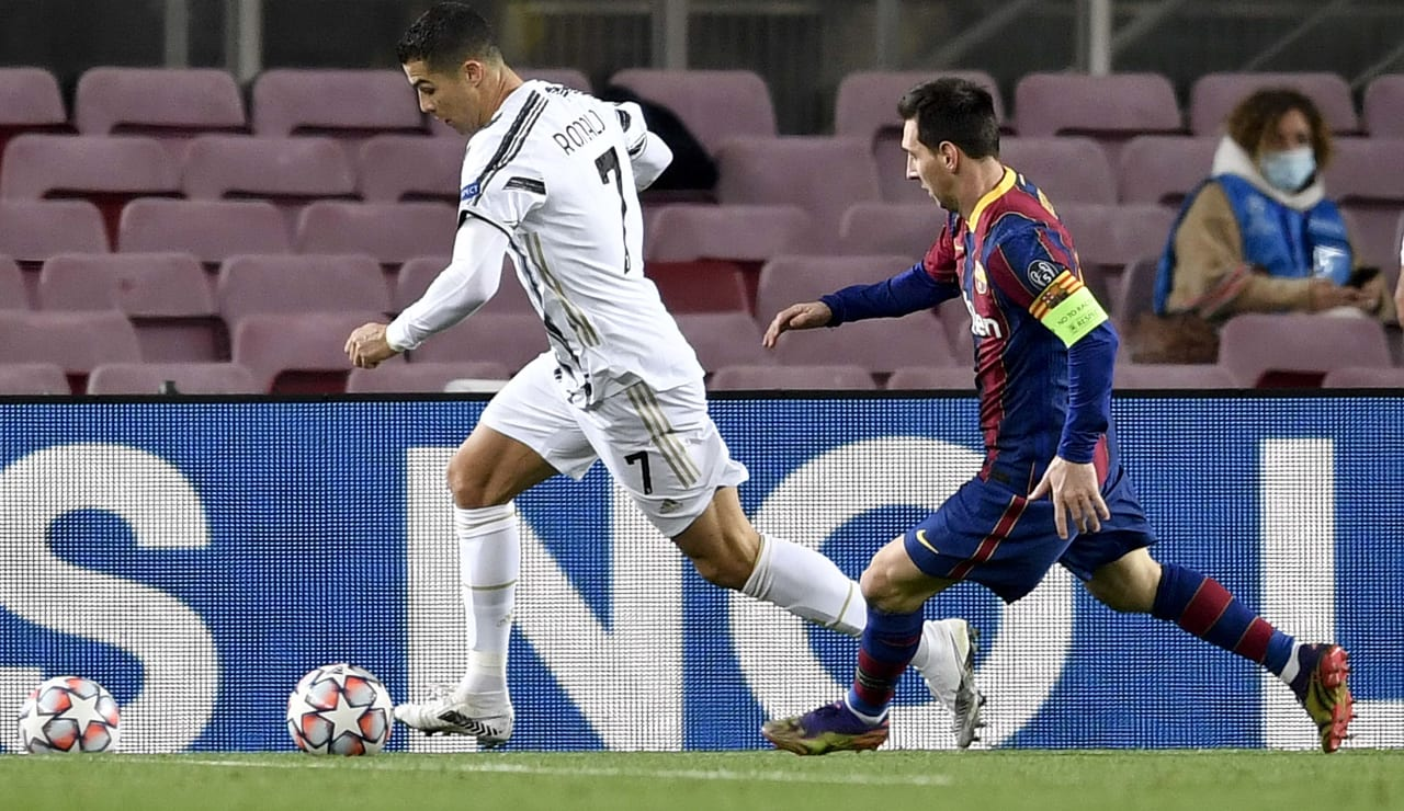 17 Barcelona Juventus 8 dicembre 2020