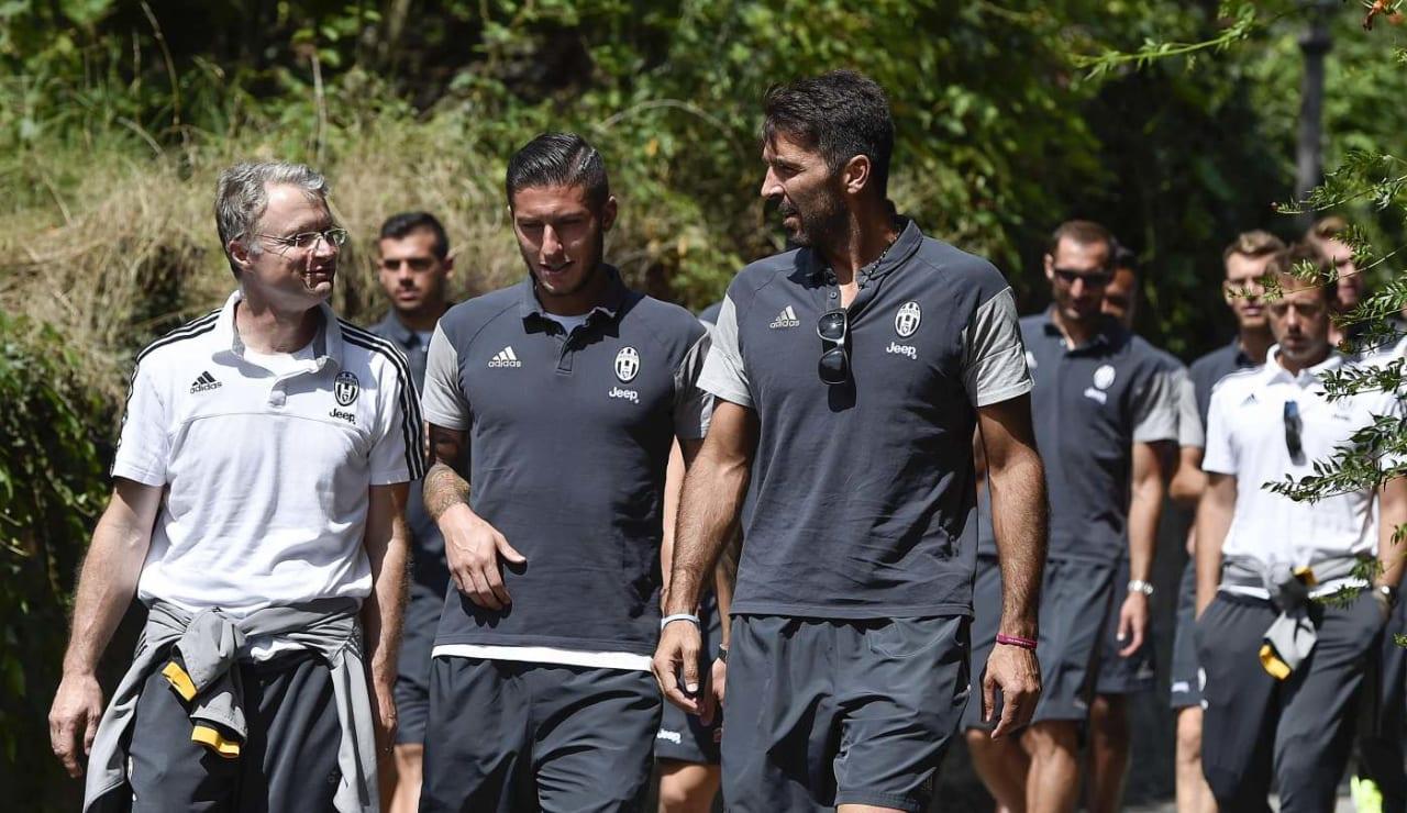 Juventus visit Villa Agnelli - Juventus
