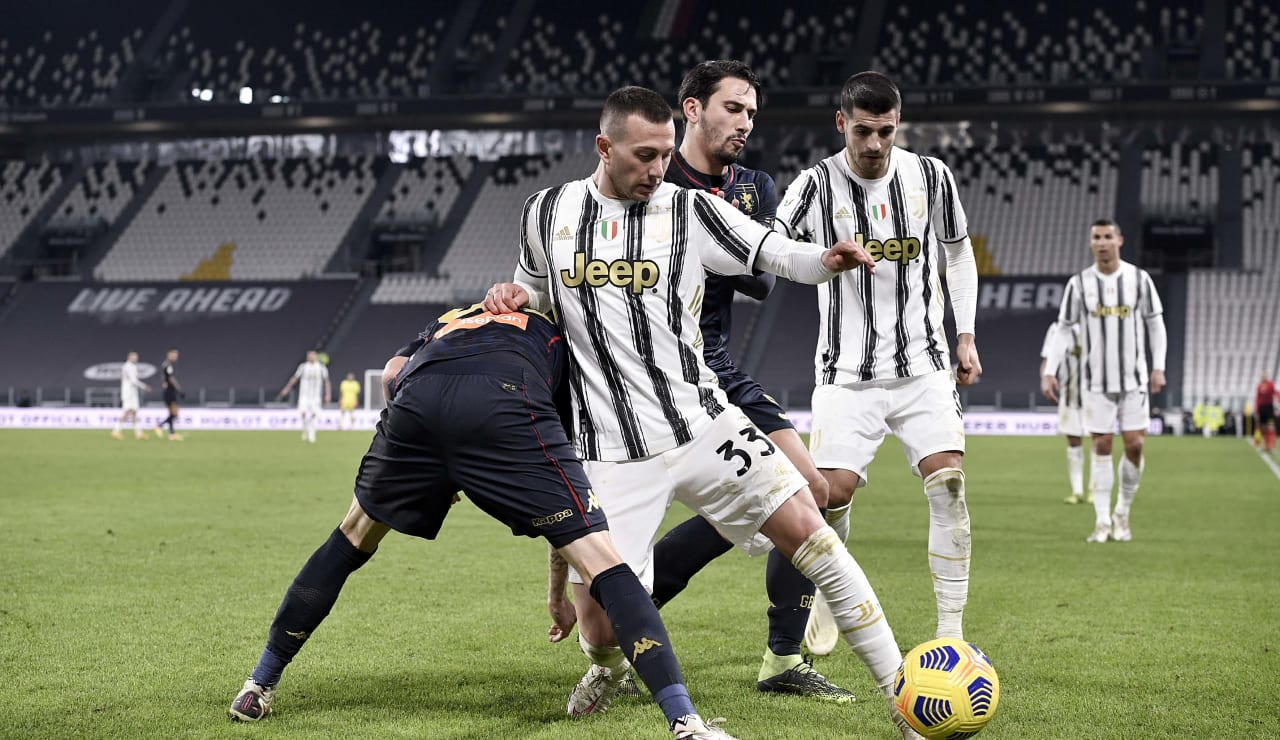 16 Juventus Genoa 13 gennaio 2021