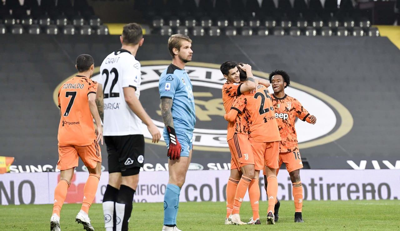 14 Spezia Juventus 1 novembre 2020