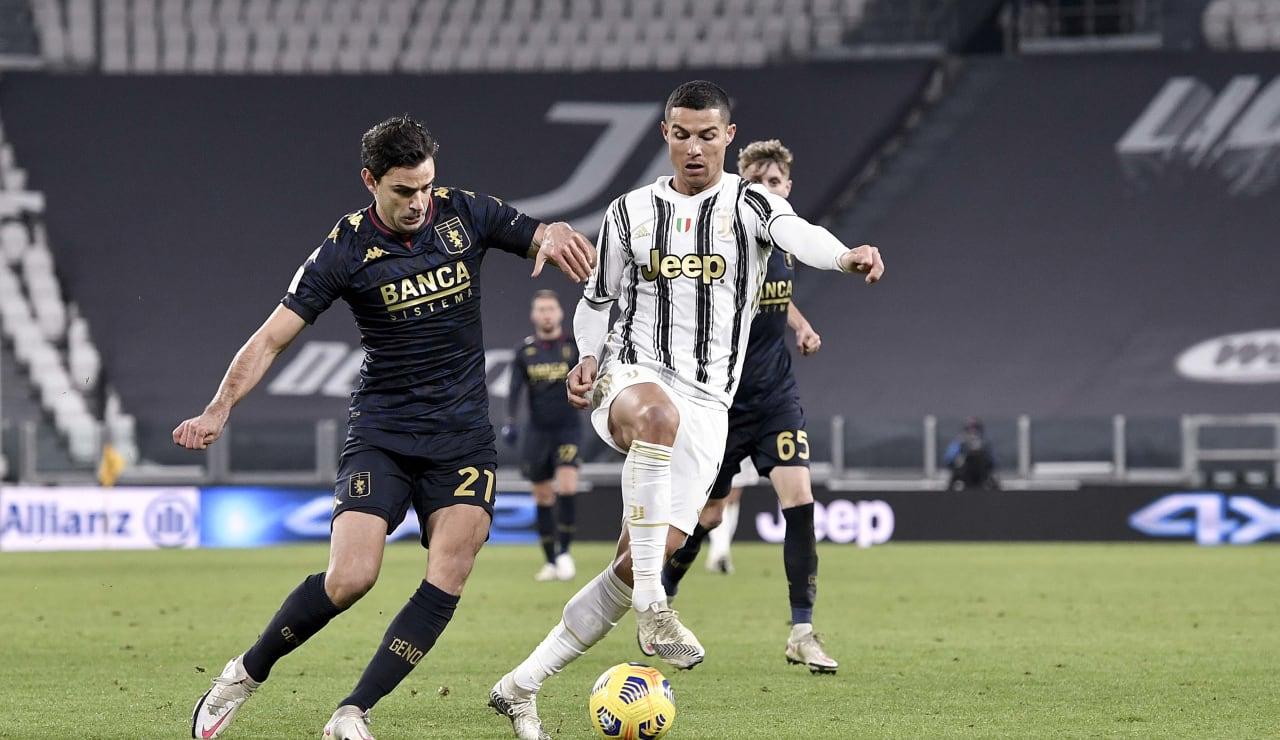 12 Juventus Genoa 13 gennaio 2021