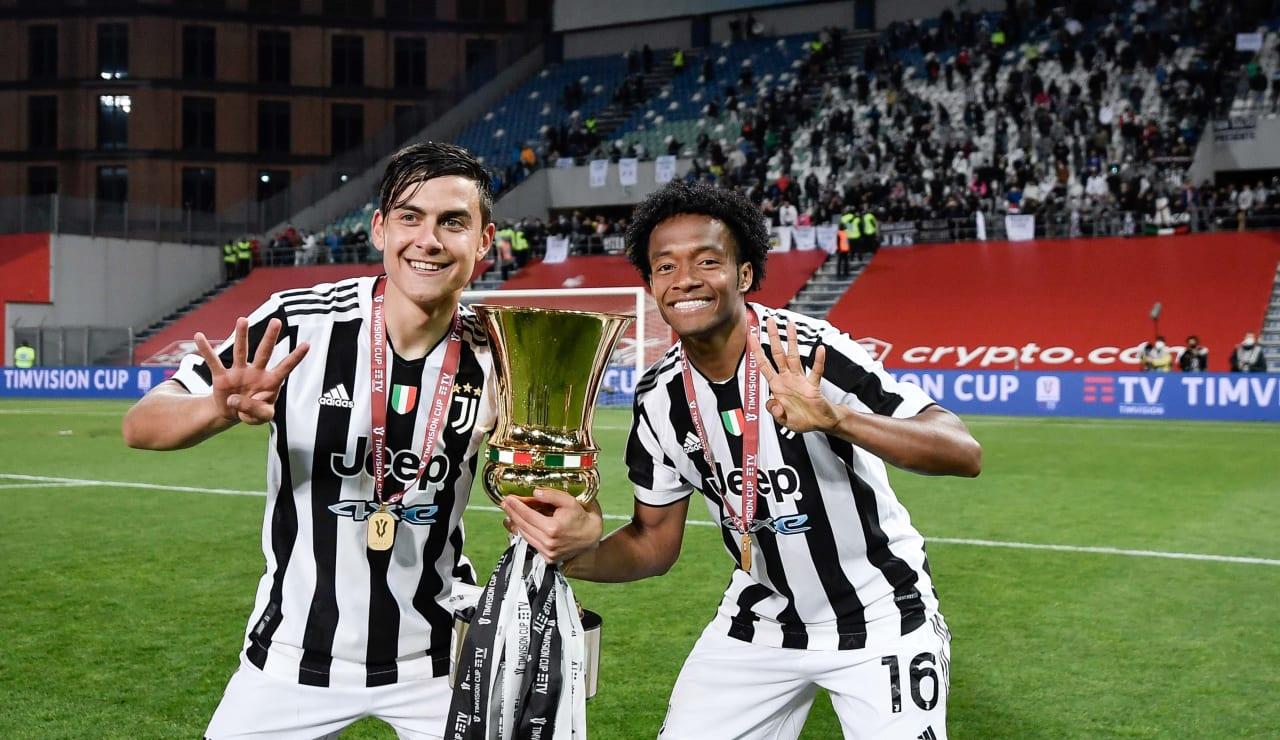 Esultanza Coppa Italia 19 maggio 2021 - 17