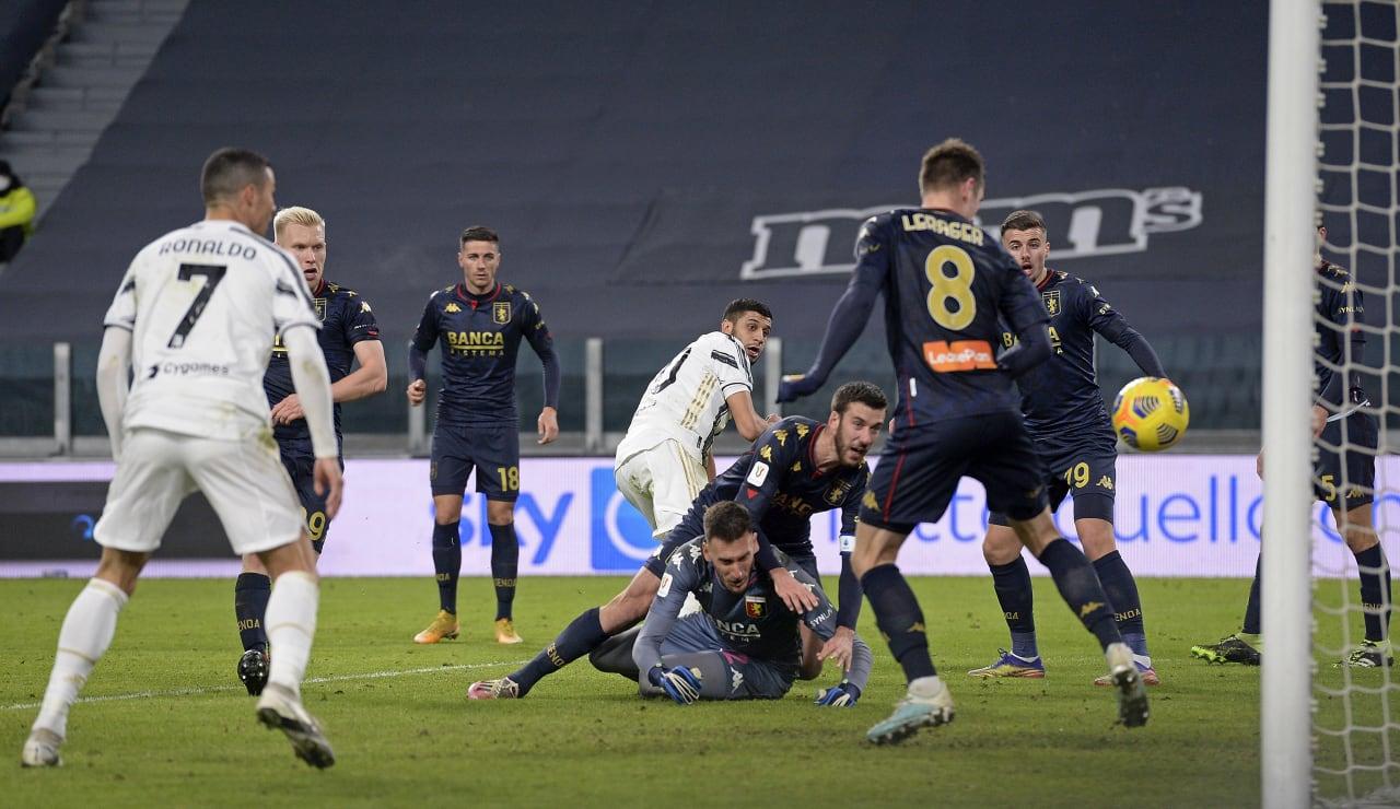 14 Juventus Genoa 13 gennaio 2021