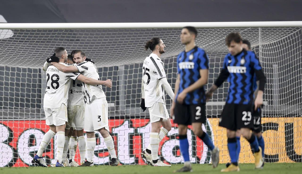 17 Juve Inter Coppa Italia 9 febbraio 2021