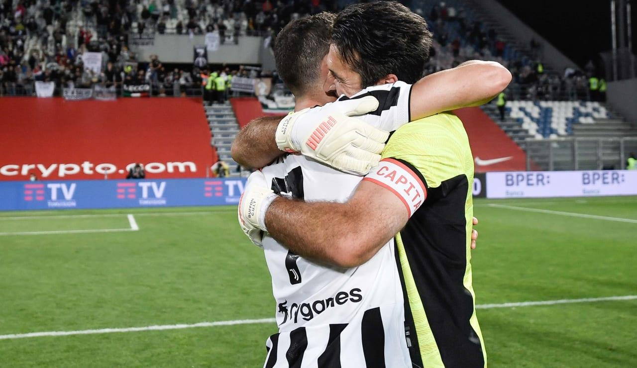 Esultanza Coppa Italia 19 maggio 2021 - 08