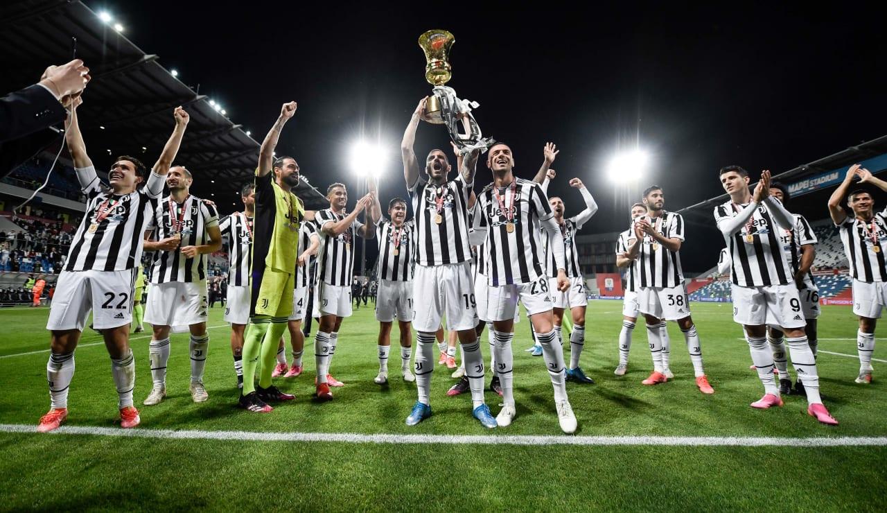 Esultanza Coppa Italia 19 maggio 2021 - 12