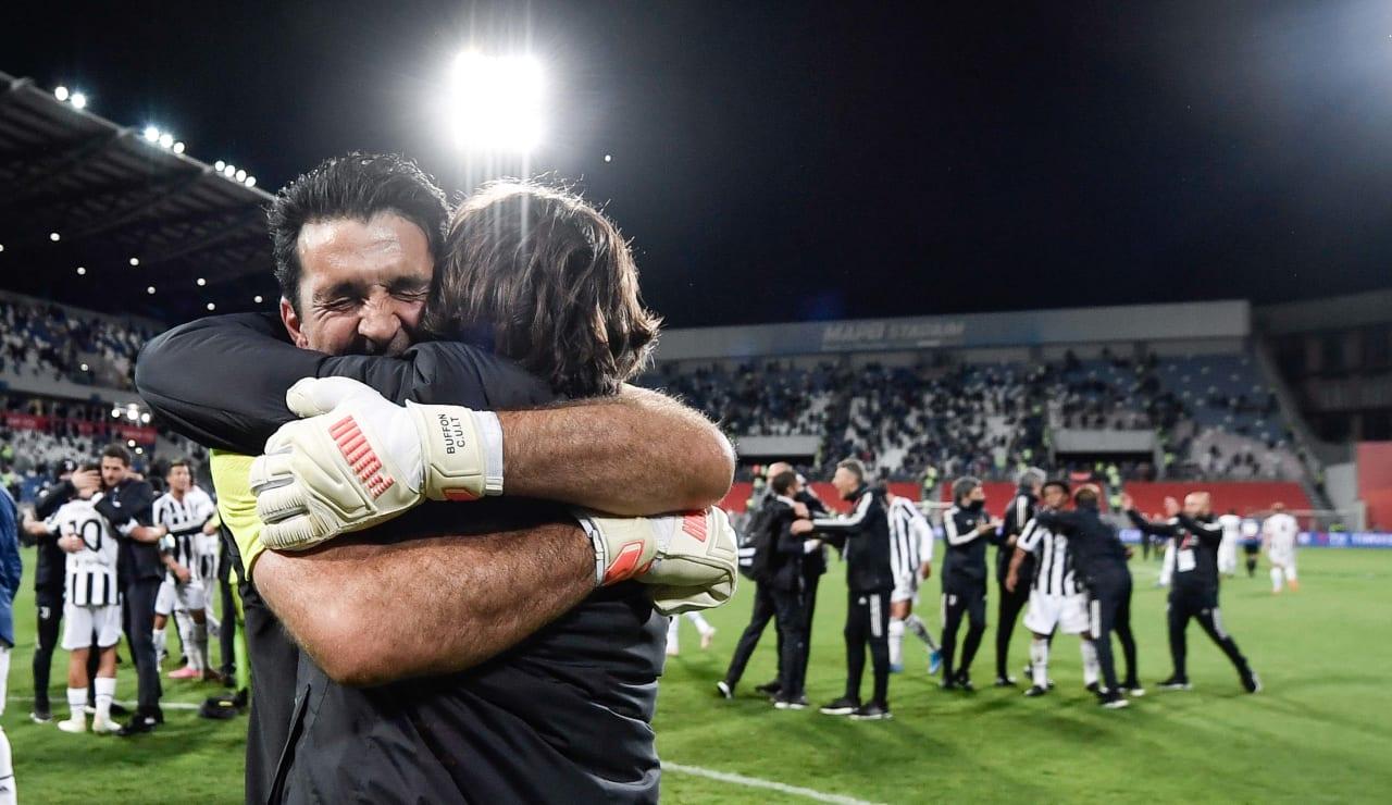 Esultanza Coppa Italia 19 maggio 2021 - 02