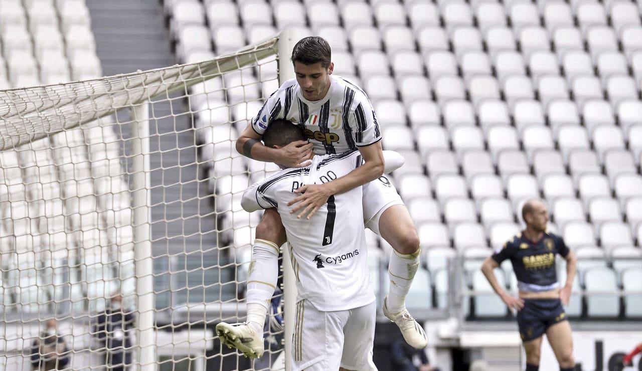 10 Juventus Genoa 11 aprile 2021