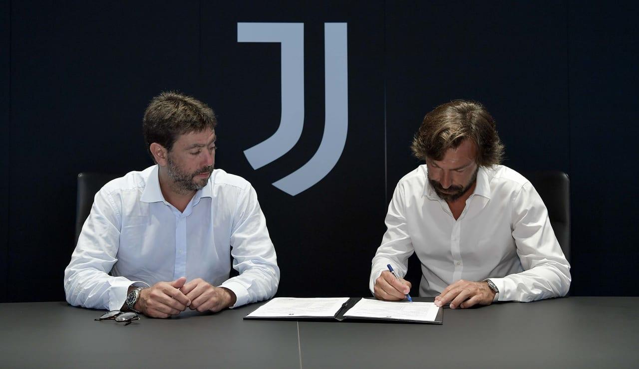 Pirlo U23 Firma 31 luglio 2020 02