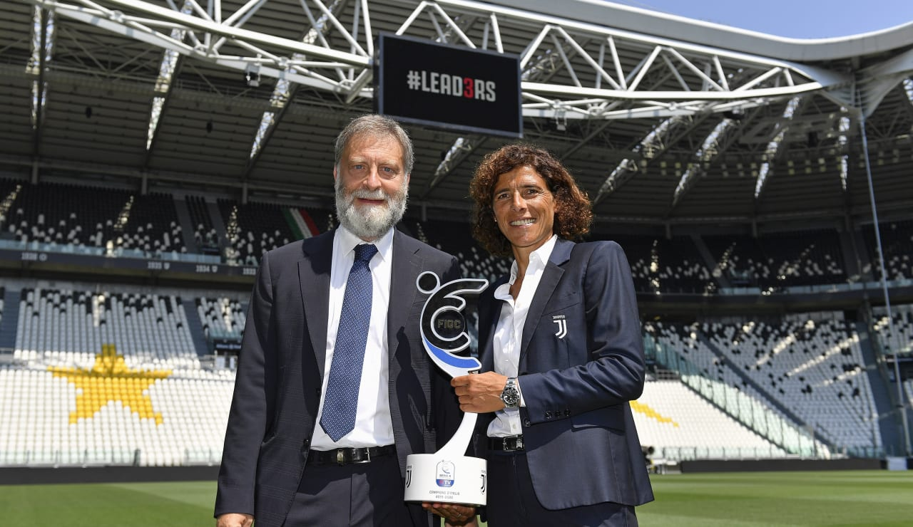 SCUDETTO WOMEN CONSEGNA ALLIANZ STADIUM_F1A1666