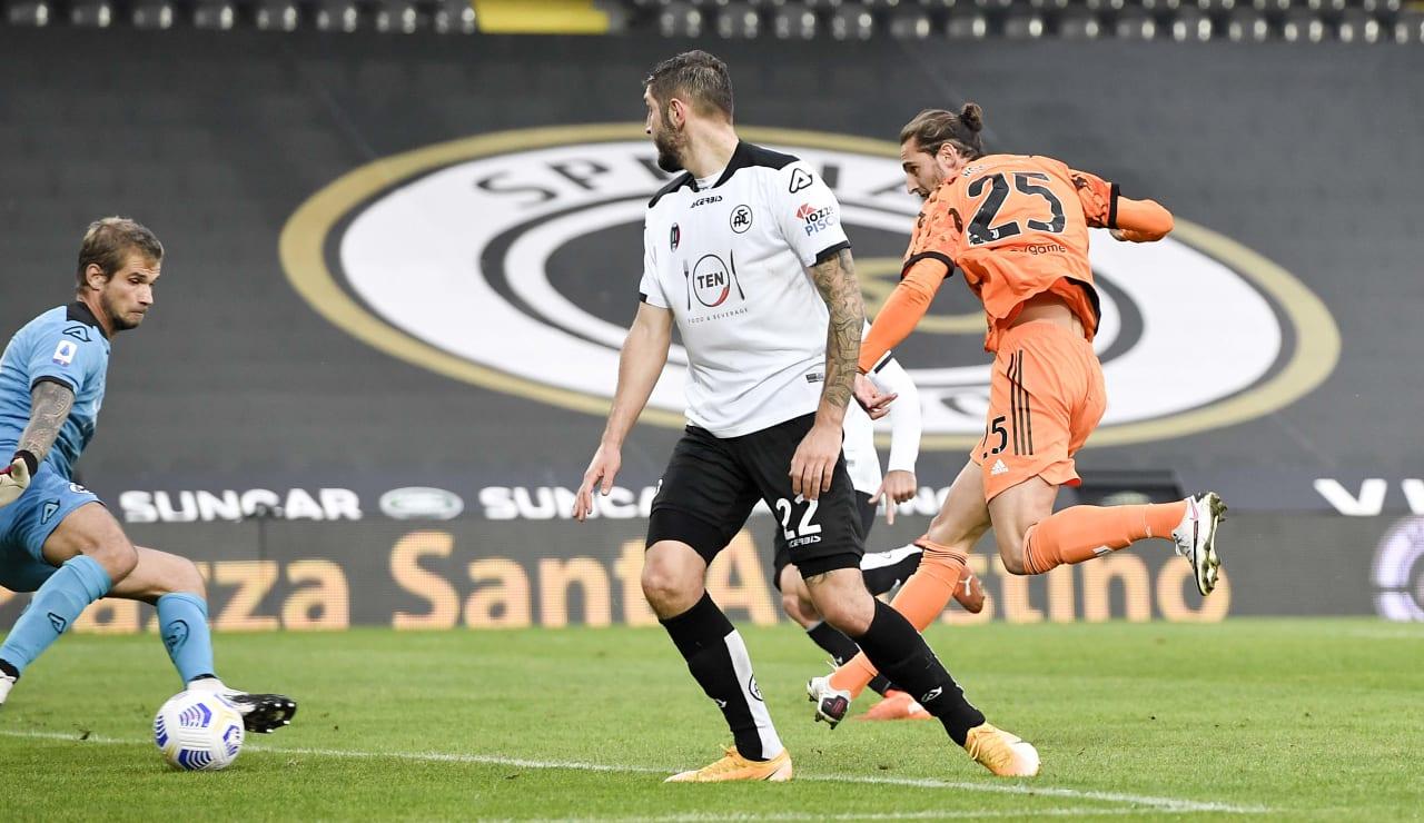13 Spezia Juventus 1 novembre 2020