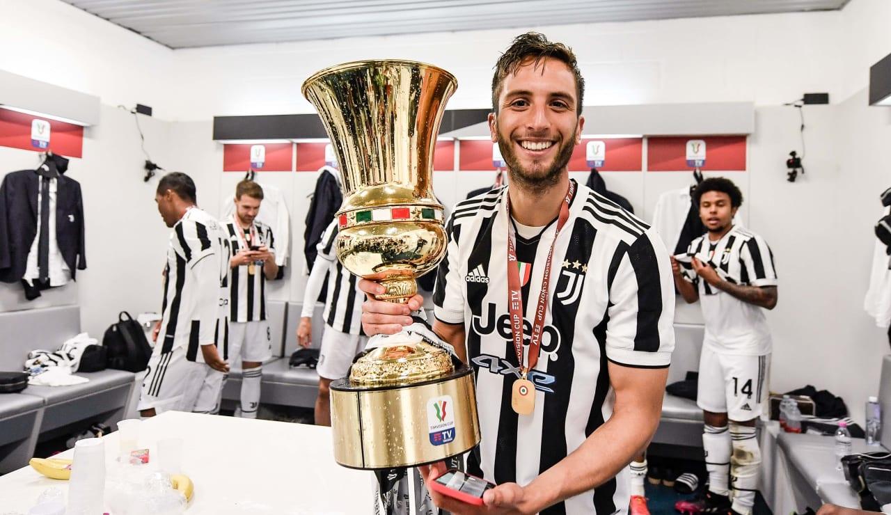 Esultanza Coppa Italia 19 maggio 2021 - 25