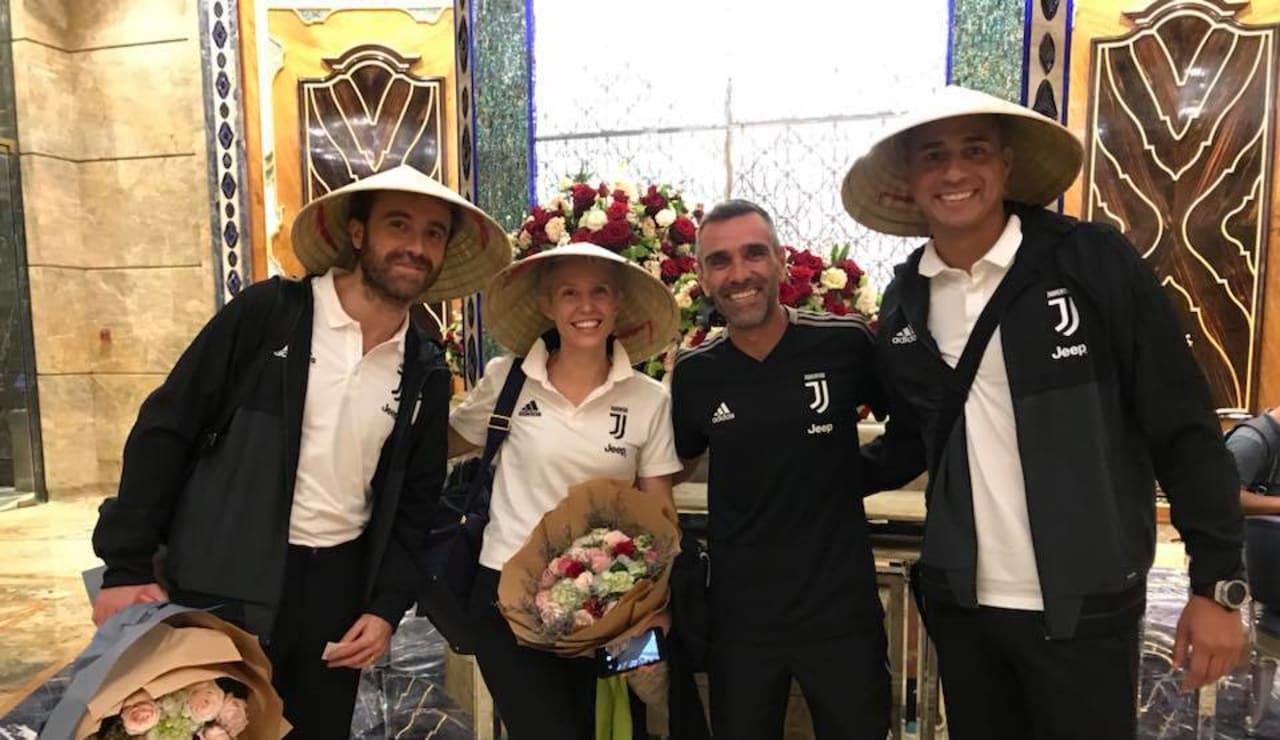 Juventus FC Legend David Trezeguet visits Juventus Academy Vietnam