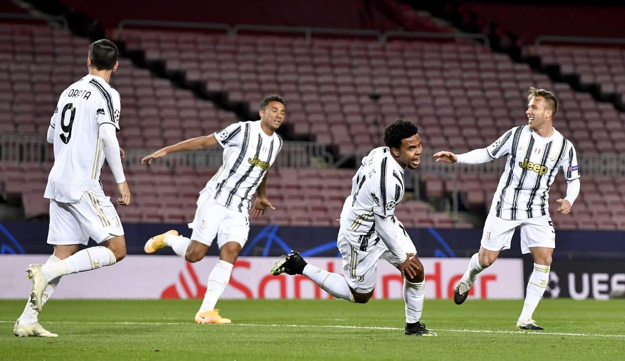 11 Barcelona Juventus 8 dicembre 2020