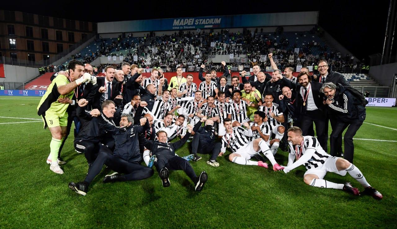 Esultanza Coppa Italia 19 maggio 2021 - 13
