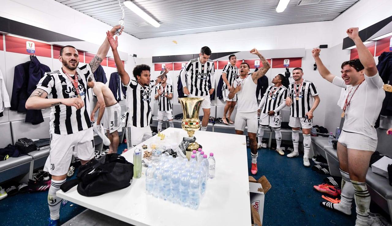 Esultanza Coppa Italia 19 maggio 2021 - 22