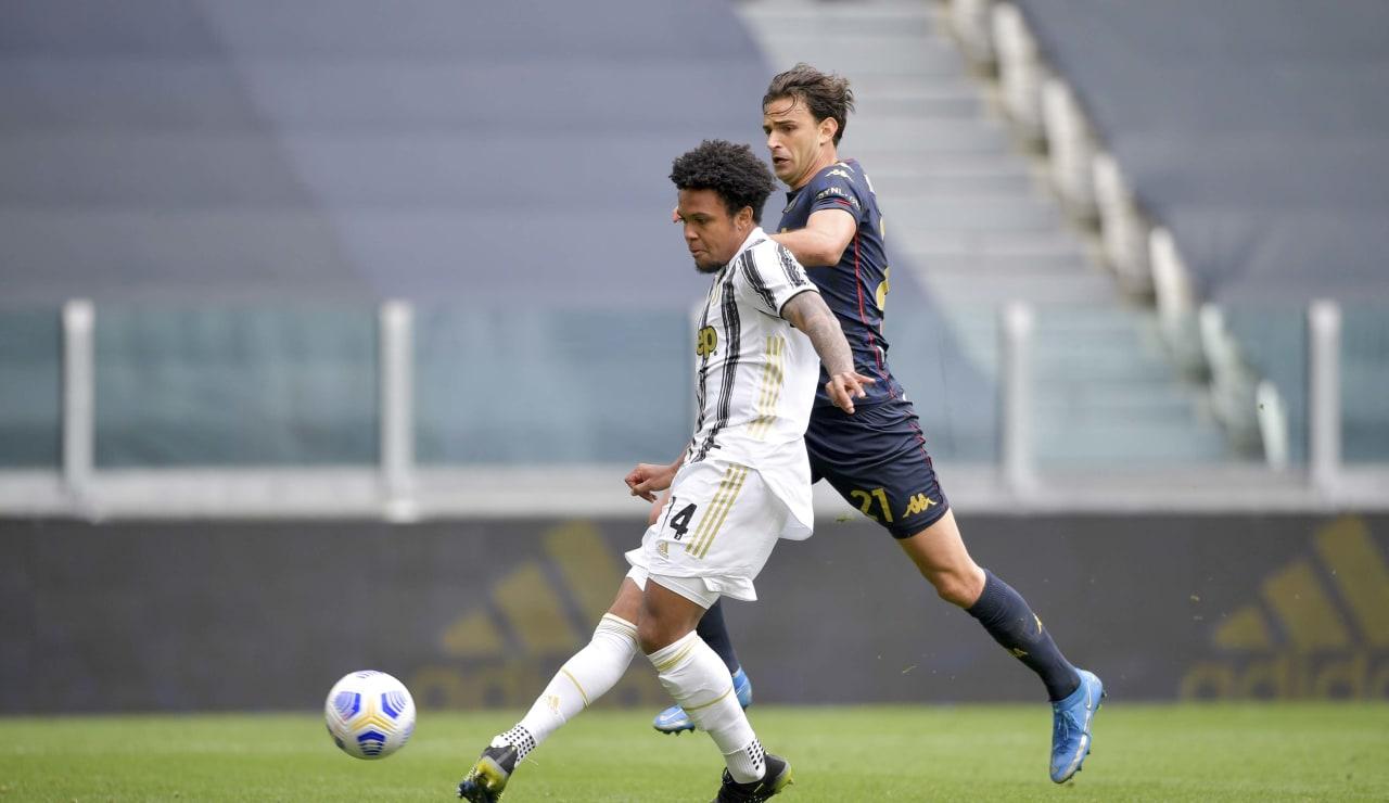 18 Juventus Genoa 11 aprile 2021