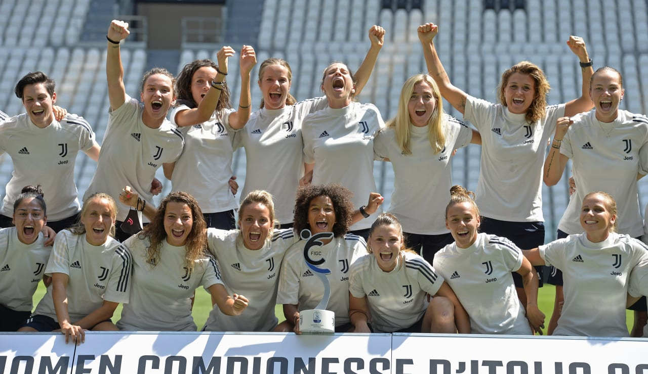 SCUDETTO WOMEN CONSEGNA ALLIANZ STADIUM_F2A3318