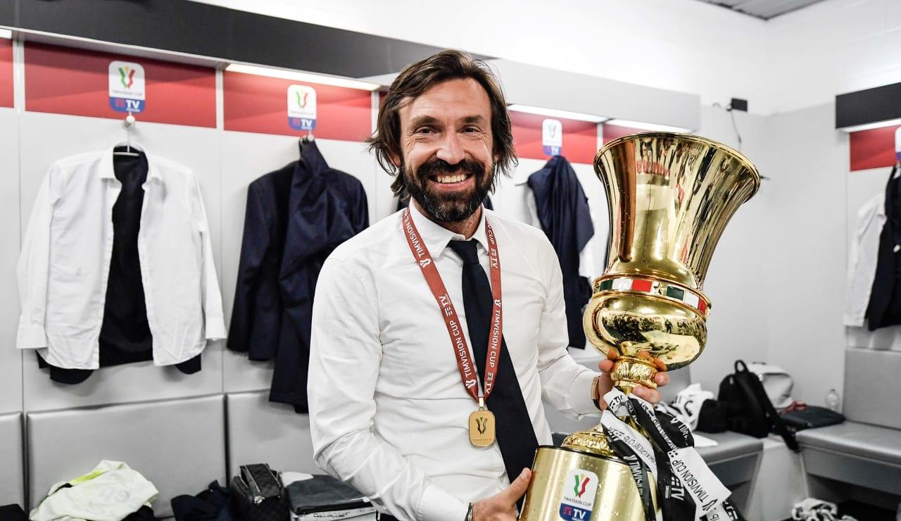Esultanza Coppa Italia 19 maggio 2021 - 24