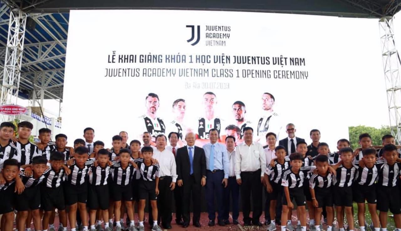 Juventus Youth Professional (JYP) Class 1 Opening Ceremony with Park Hang-Seo (Vietnam National Team Head Coach)