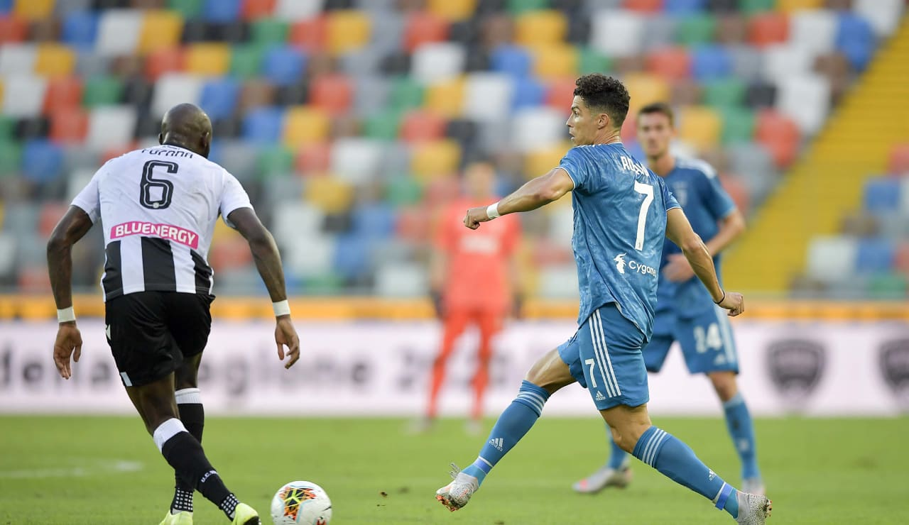 Udinese Juventus 23 luglio 2020 04