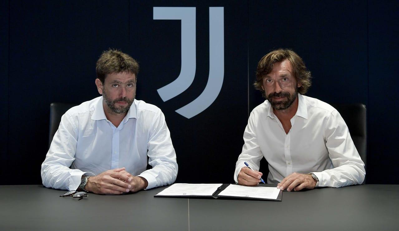 Pirlo U23 Firma 31 luglio 2020 01