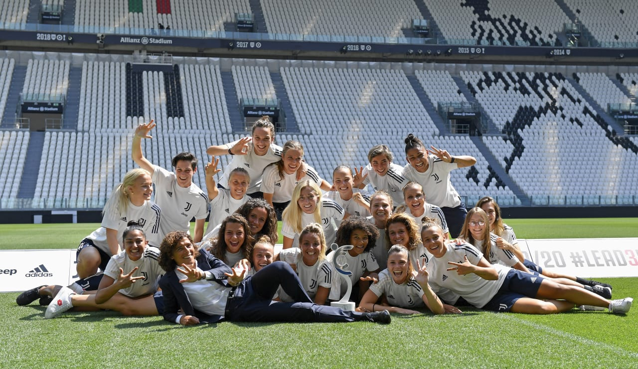 SCUDETTO WOMEN CONSEGNA ALLIANZ STADIUM_F1A1218