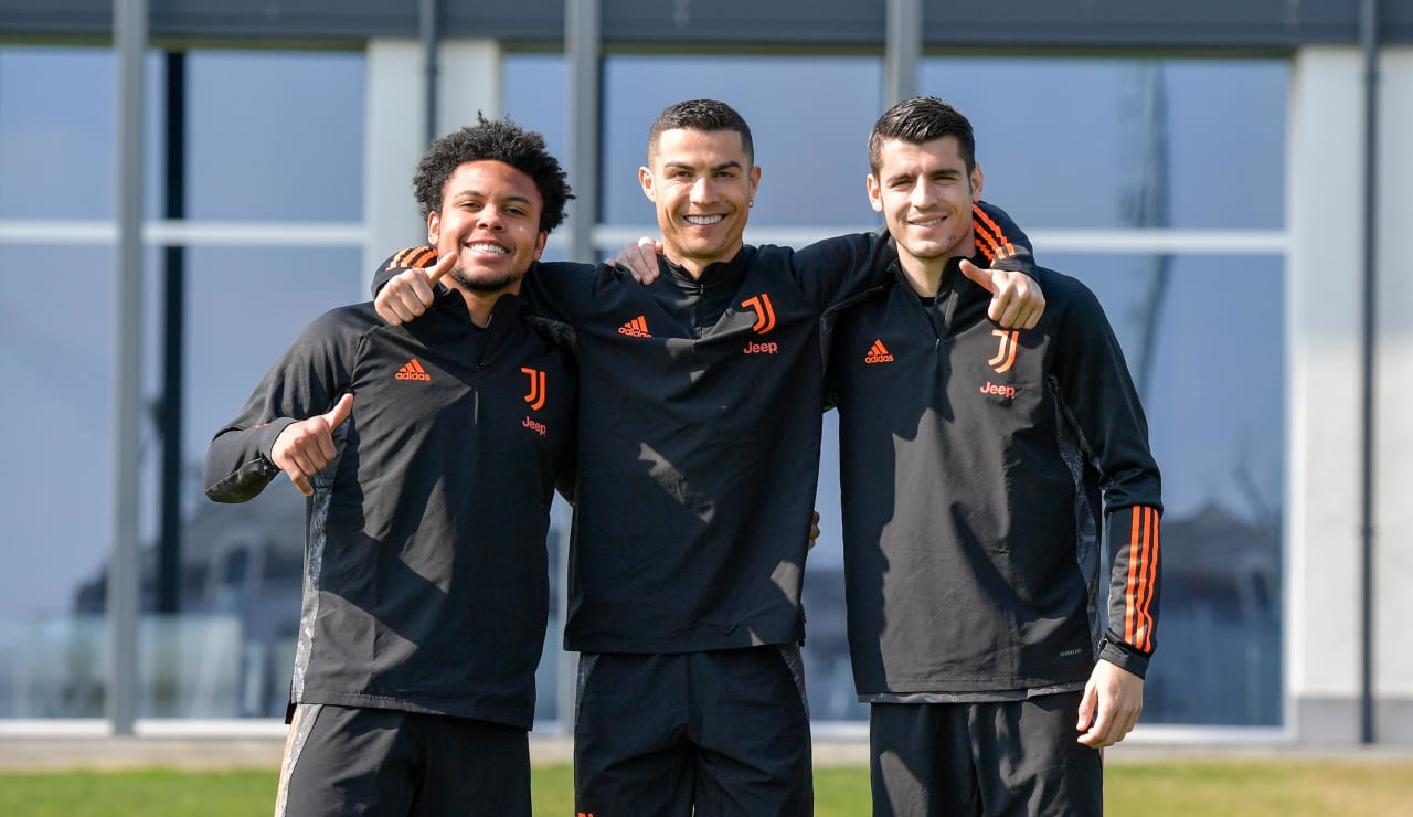Training UCL pre Juve-Porto (2)