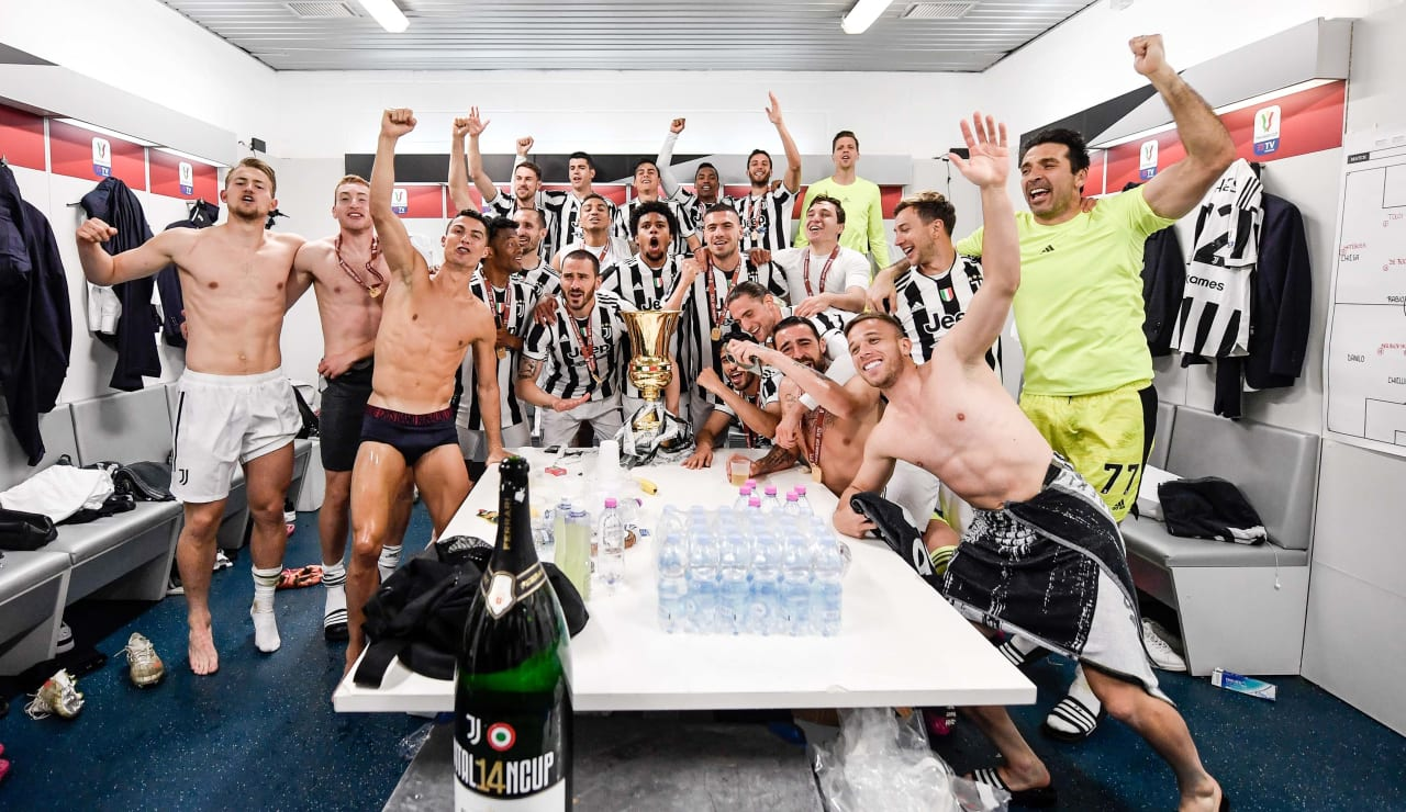 Esultanza Coppa Italia 19 maggio 2021 - 23