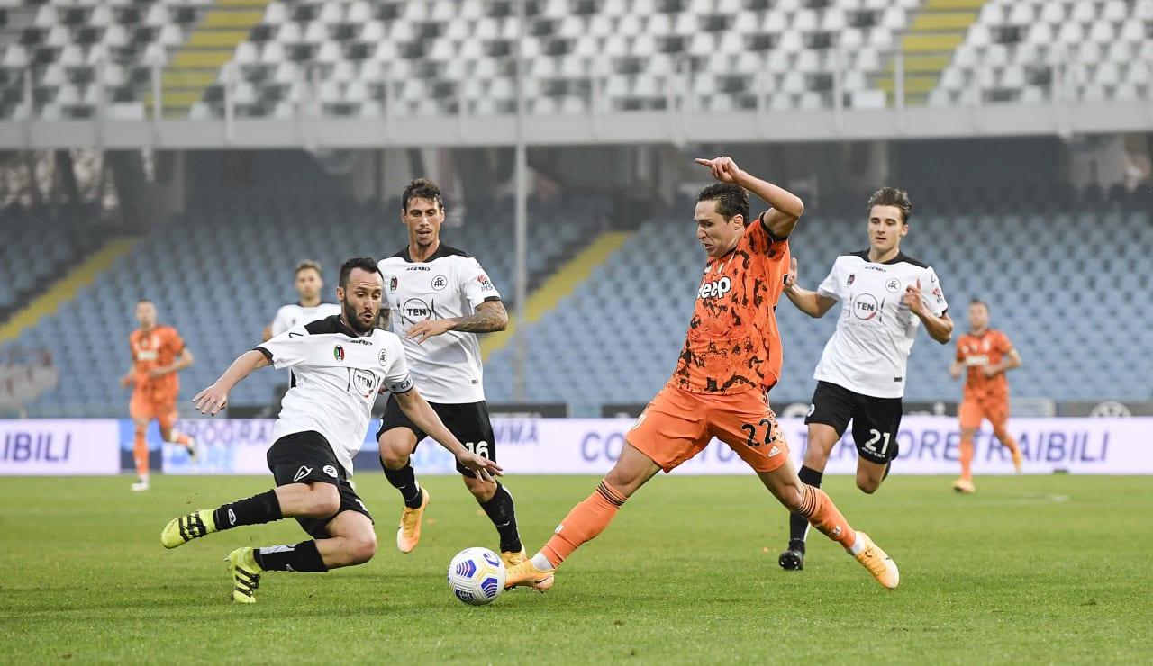 12 Spezia Juventus 1 novembre 2020