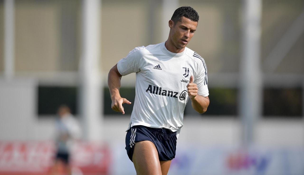 Ronaldo training