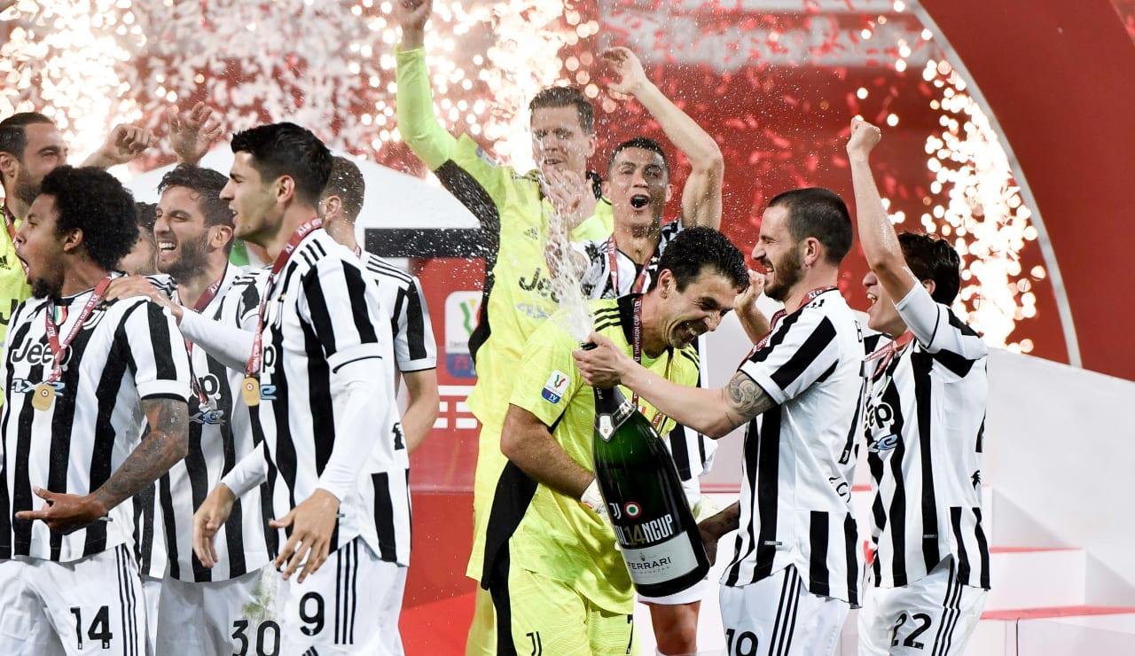 Esultanza Coppa Italia 19 maggio 2021 - 26