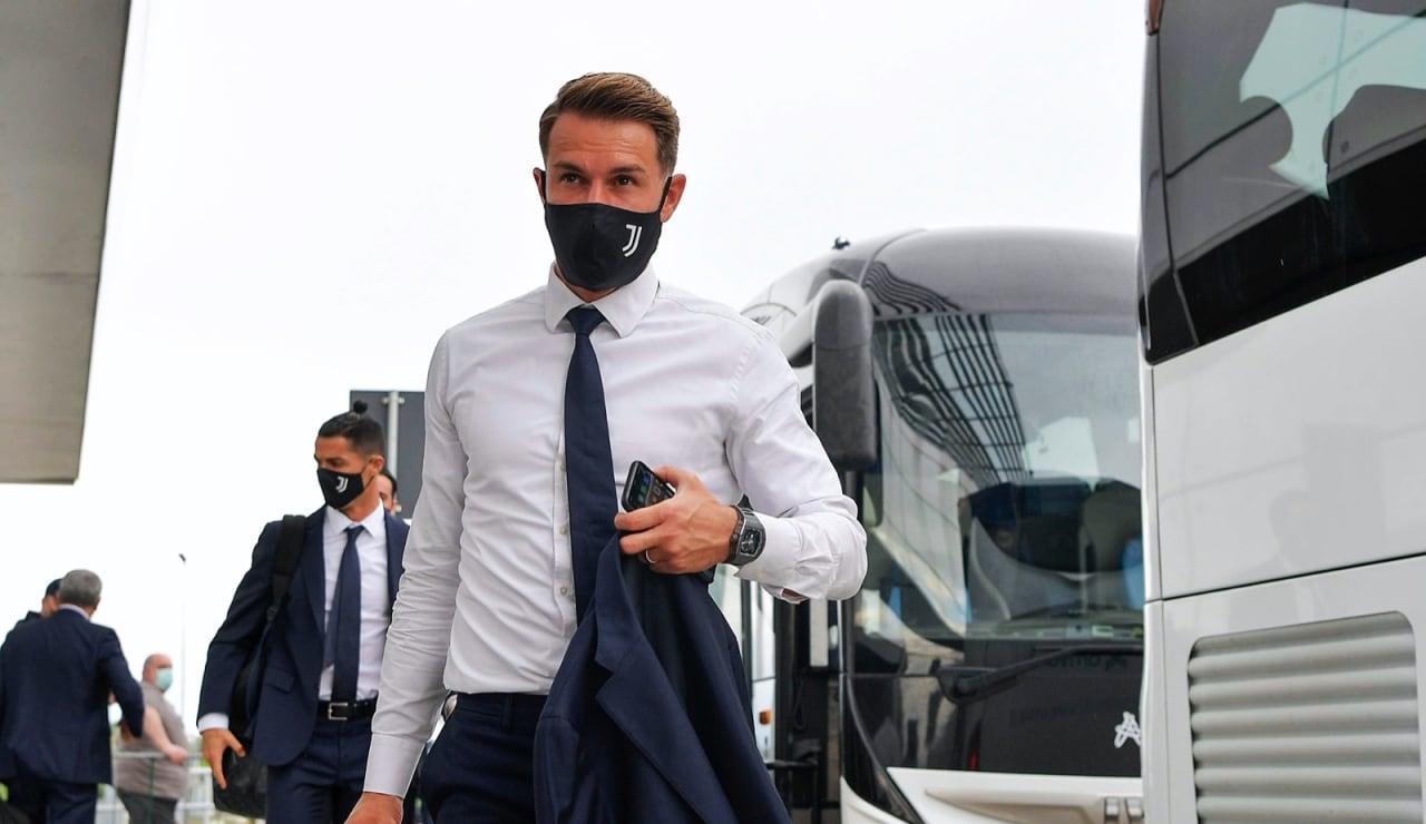 Ramsey-Partenza-Roma