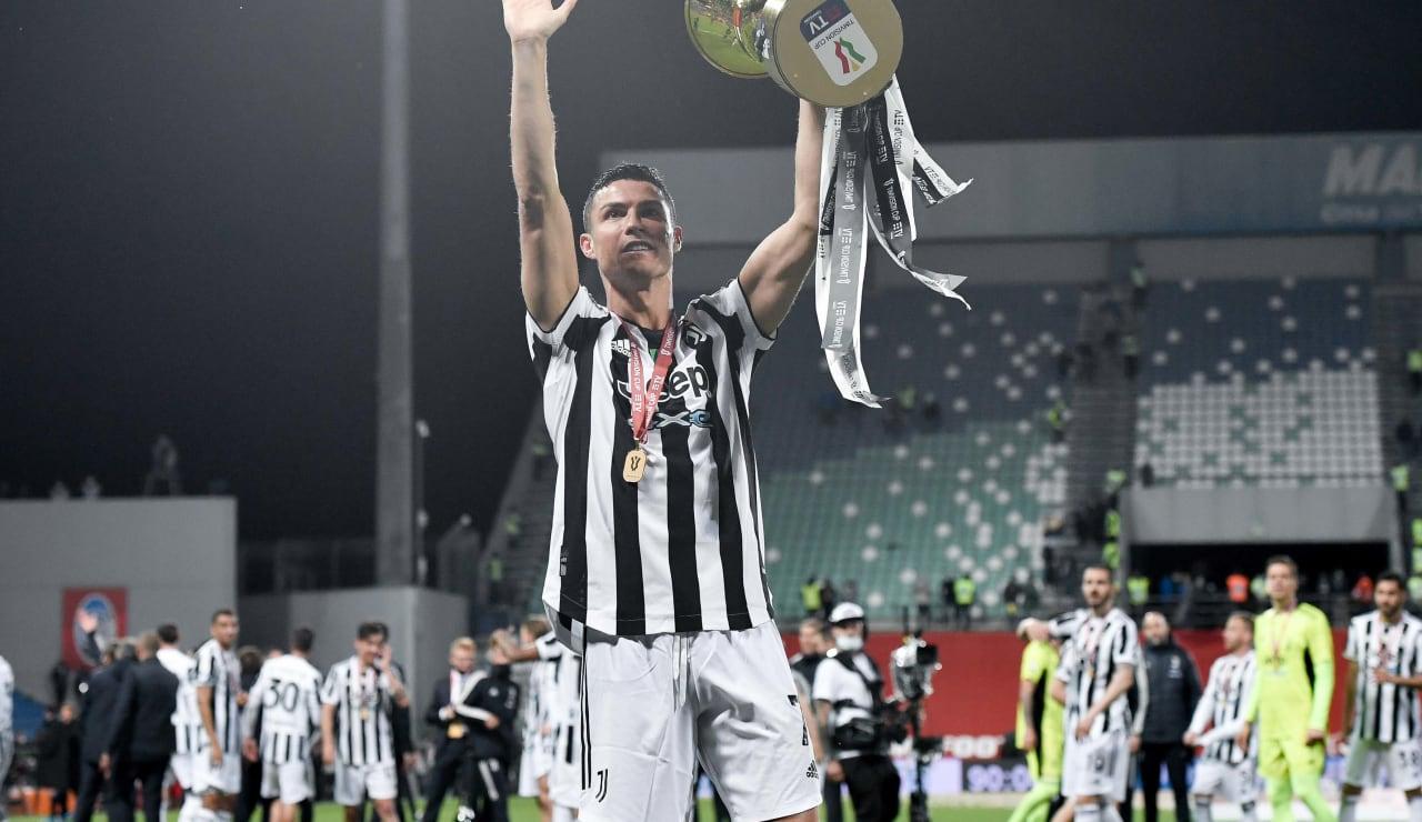 Esultanza Coppa Italia 19 maggio 2021 - 31