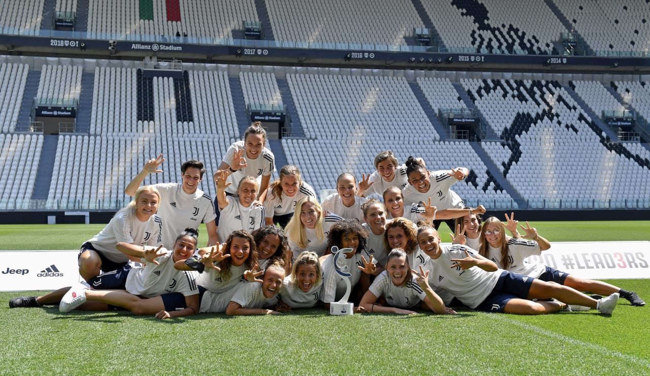 SCUDETTO WOMEN CONSEGNA ALLIANZ STADIUM_F1A1192