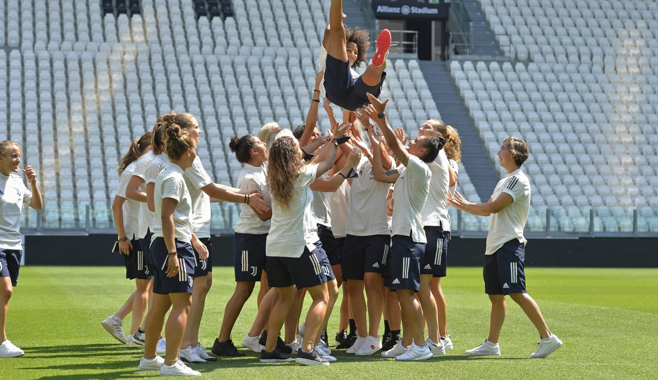 SCUDETTO WOMEN CONSEGNA ALLIANZ STADIUM_F2A3353