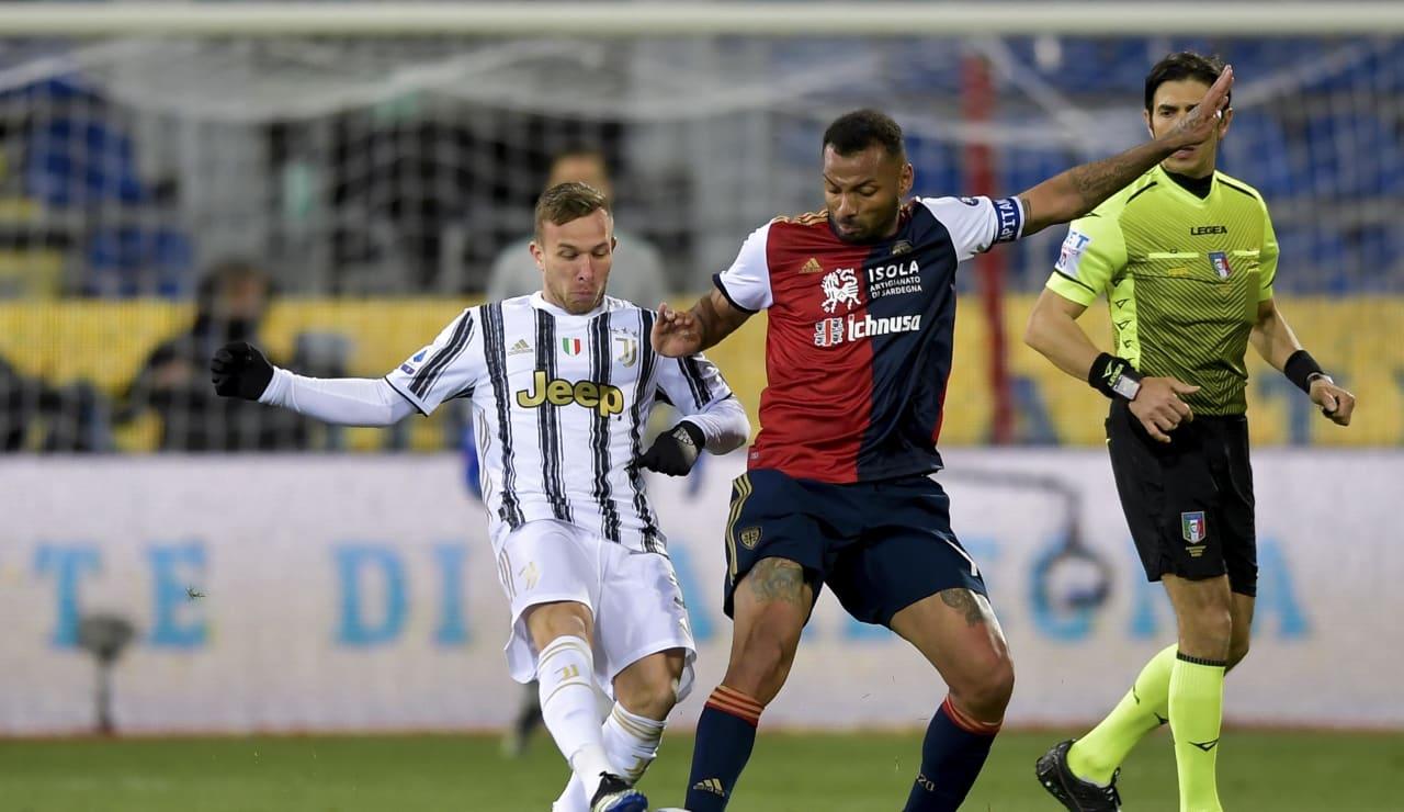 18 Cagliari Juve 14 marzo 2021